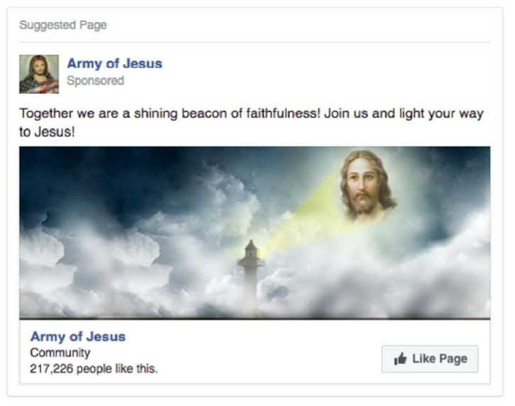 People Who Match: Interests: jesusloveu, IAm a ChildofGod, JesusDaily, Knowing Jesus or I Have Decided to Follow Jesus And Must Also Match: Interests: Jesus   Ad Impressions 368,065 Ad Clicks 28,137 Ad Spend 89,081.11 RUB